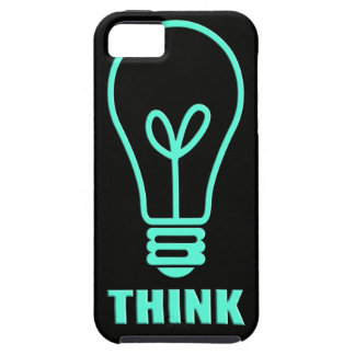 sky blue thoughts iPhone SE/5/5s case