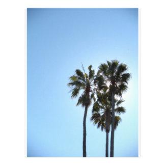 Sky Blue Treesome Letterhead