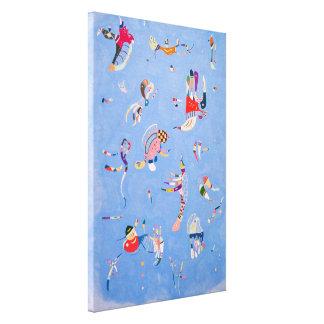 Sky Blue   Wassily Kandinsky Canvas Print