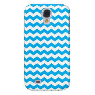 Sky blue white chevrons samsung galaxy s4 covers