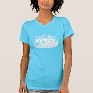 Sky Blue + White Sisters of the Dance T-Shirt