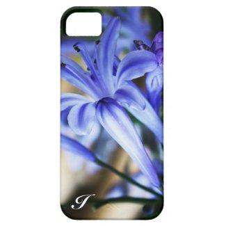 Sky Blue Wildflowers Monogrammed Skins