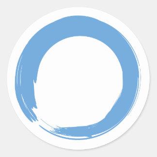 Sky Blue Zen Symbol Sticker