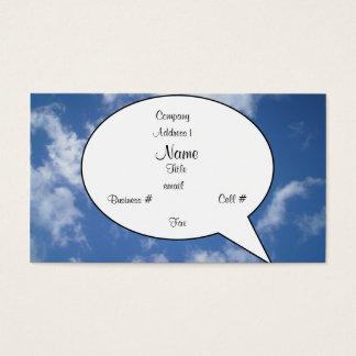 Sky Bubble Card (MurrayHillBd))