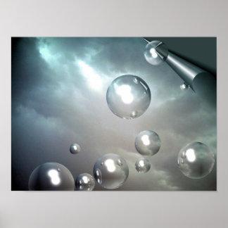 Sky Bubbles Poster