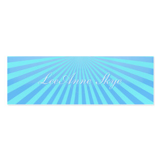Sky Burst Double-Sided Mini Business Cards (Pack Of 20)