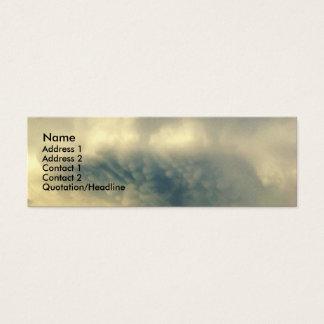 Sky Burst Cloud Profile Card