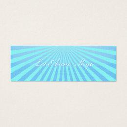 Sky Burst Mini Business Card