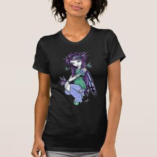 """Sky"" Butterfly Rose Fairy Art Top Tee Shirts"