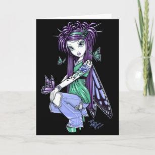 Blue Purple Rose Cards Zazzle