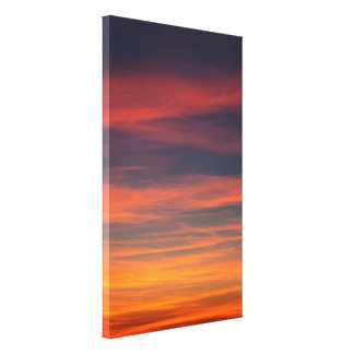 sky calm gallery wrapped canvas