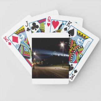 Sky City Lights Poker Deck