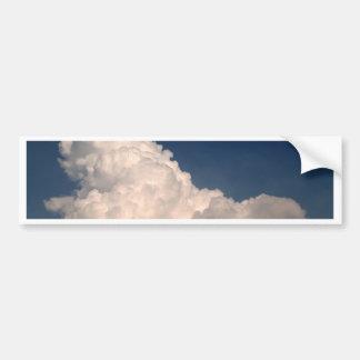 sky  cloud bumper sticker