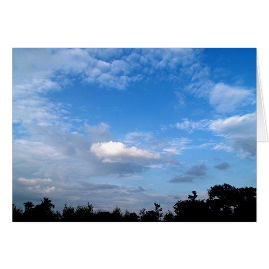 sky  cloud card