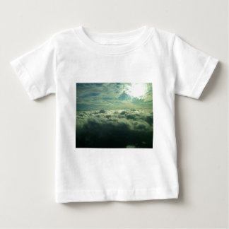 Sky Cloud Design - Flying Picture Baby T-Shirt