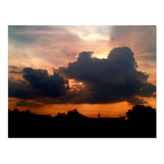 sky  cloud  sunset postcard