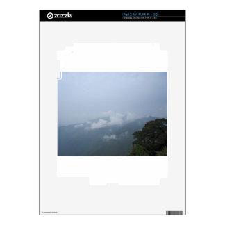 sky cloud tree decals for iPad 2