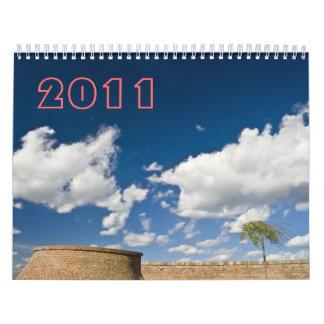 sky & clouds, 2011 wall calendar
