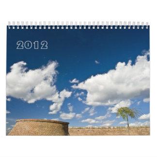sky & clouds, 2012 wall calendars