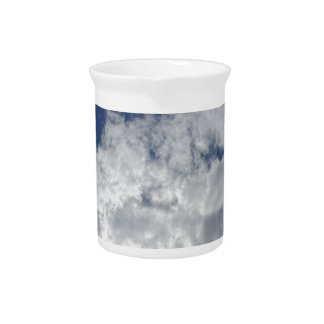 sky clouds beverage pitcher