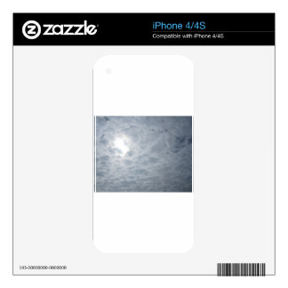sky clouds iPhone 4S decal