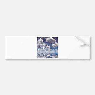 Sky Clouds Over Water Bumper Sticker