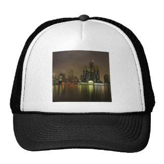 Sky Cloudy City Night Trucker Hat