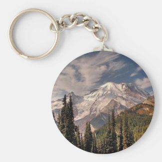 Sky Cold Peaceful Mountians Key Chain