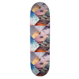 Sky Collage Skateboard