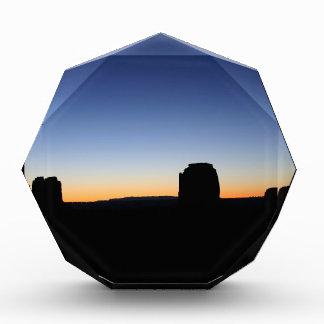Sky Colours Of Night Acrylic Award