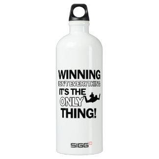sky dive design water bottle