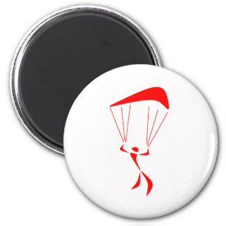 SKY DIVE FAME 2 INCH ROUND MAGNET