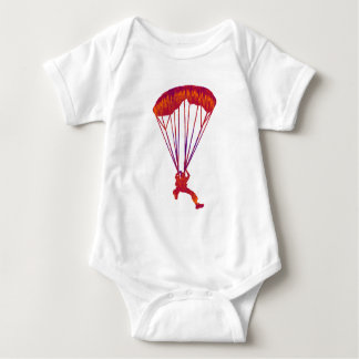 SKY DIVE PANNED BABY BODYSUIT