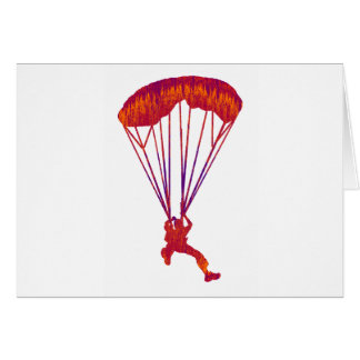 SKY DIVE PANNED CARD
