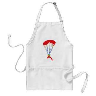 SKY DIVE SPOTTED ADULT APRON