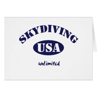 Sky Dive USA unlimited Card