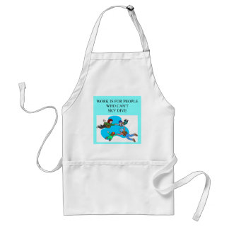 sky diver gifts adult apron
