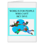 sky diver gifts cards