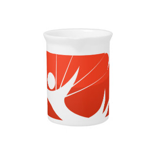 Sky Diver Icon Beverage Pitchers