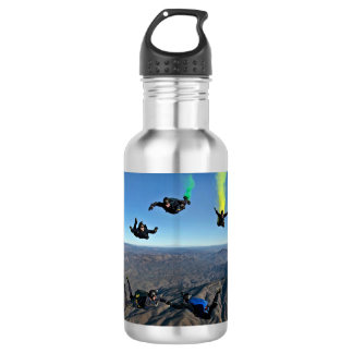 Sky Divers Water Bottle