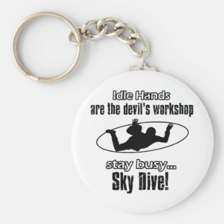 SKY DIVING awesome gift items Key Chain