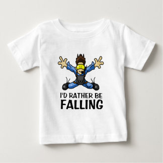 Sky Diving Baby T-Shirt