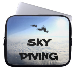Sky Diving Blurry Background 10 Inch Laptop Sleeves