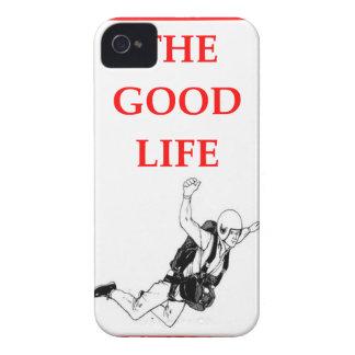 sky diving iPhone 4 Case-Mate case