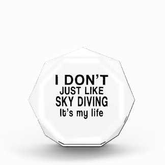 SKY DIVING IS MY LIFE AWARD