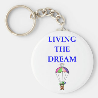 sky diving keychain