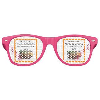 sky diving retro sunglasses
