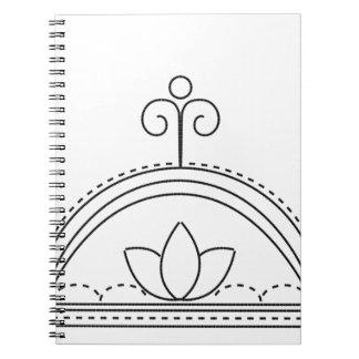 Sky dome spiral note book
