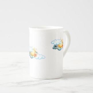 Sky Dragon Tea Cup