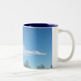 Sky Dragon Two-Tone Coffee Mug